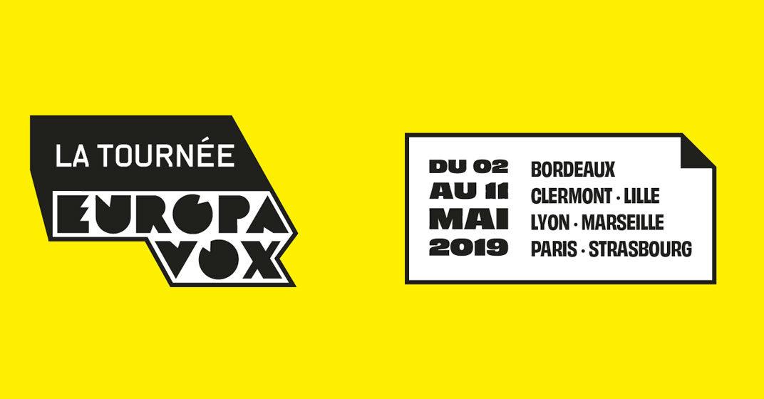 La Tournée Europavox 2019