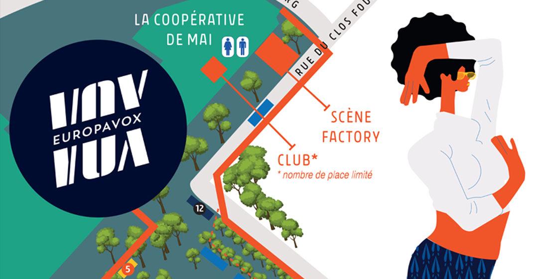 Le plan du festival et les horaires d'ouverture !