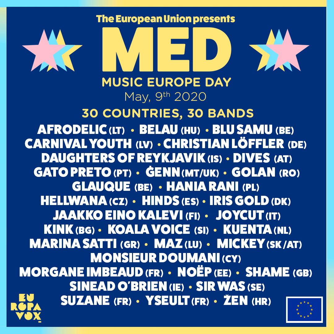 30 countries, 30 bands !