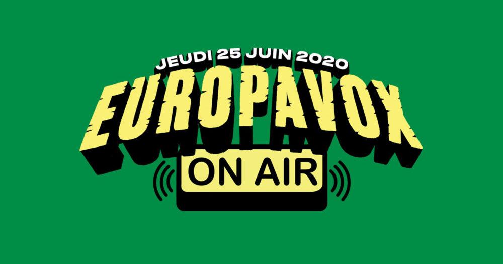 Logo Europavox On Air