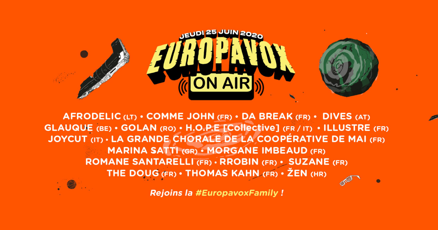 Europavox On Air - The line-up