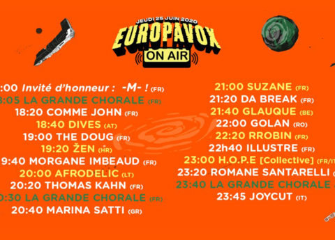 Europavox On Air : la timeline !